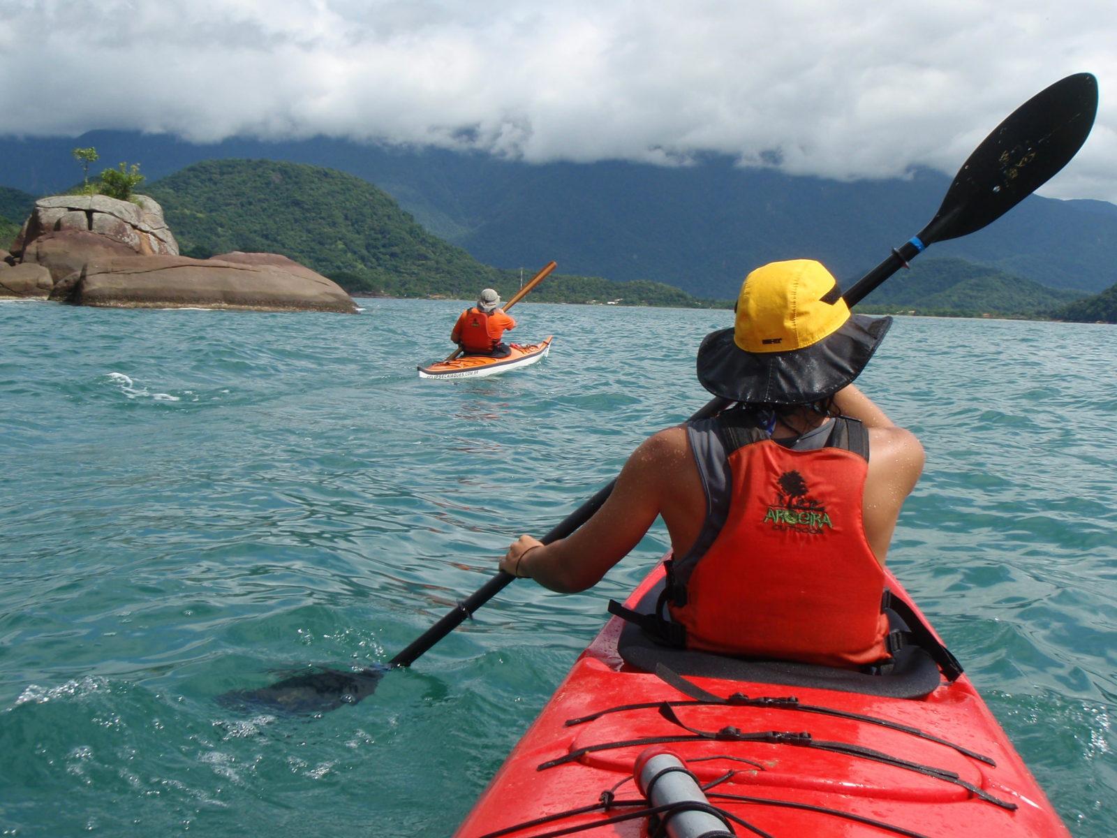 Foto de apresentação do caiaque Orca Eclipse Caiaques